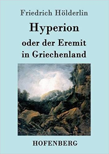 Book Hyperion Oder Der Eremit in Griechenland (German Edition)