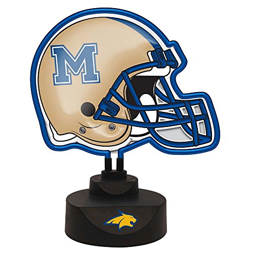 NCAA Montana State University Official Neon Helmet Lamp, Multicolor, One Size by The Memory Company