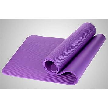 HYTGFR Esterilla Yoga Antideslizante Alfombra De Yoga Nbr ...