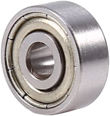 10pcs 623ZZ Mini Roulement /à Billes /à Gorge Profonde Roulement /à Brideen Acier Inoxydable au Carbone Chrom/é Blind/é 3*10*4mm