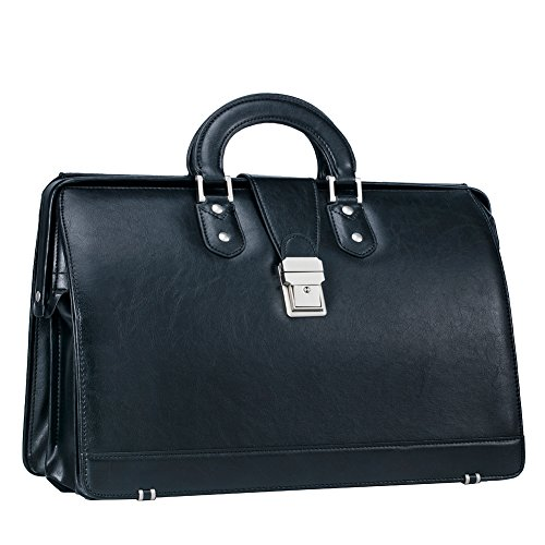 Dolphin Briefcase - Angle&Dolphin Mens New PU Leather Lawyer's Tote Briefcase HandbagBag Laptop Bag