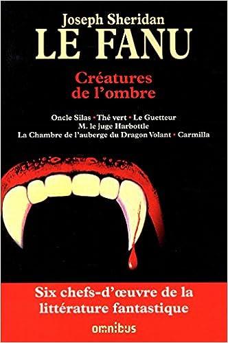 Livre Créatures de l'ombre pdf, epub