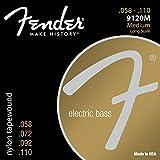 Fender Nylon Bass Guitar Strings, Light