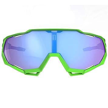 WMYY Gafas De Ciclismo Luz Polarizada UV400 Control De Arena Anti-Reflejo Gafas Deportivas Al