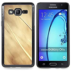 Stuss Case / Funda Carcasa protectora - Beige Summer Sun Granja Naturaleza - Samsung Galaxy On5 O5
