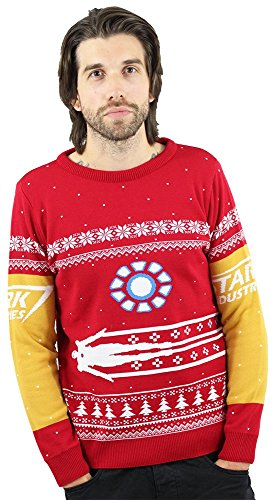 Iron Man Christmas Sweater