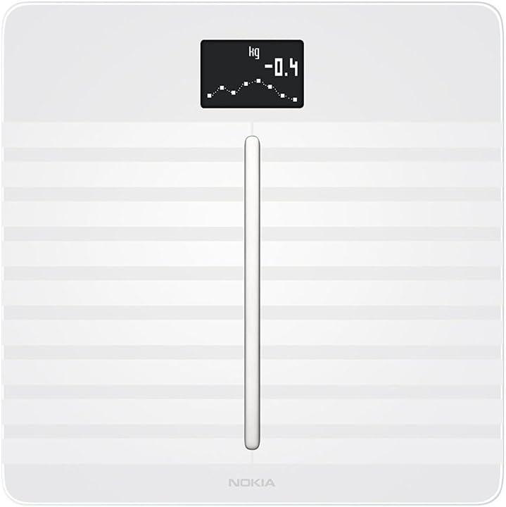 Nokia Body Cardio - Balance Wi-Fi avec composition corporelle et rythme cardiaque
