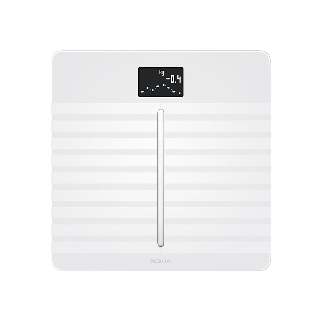 Nokia Body Cardio - Heart Health & Body Composition Wi-Fi Scale, White by Withings