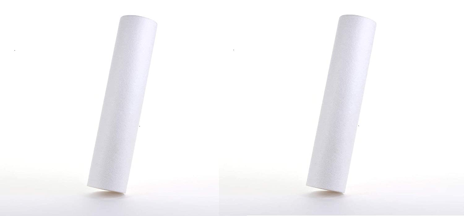1 Micron Hydronix SDC-45-2001 NSF Sediment Filter 4.5 OD X 20 Length Pack of 2