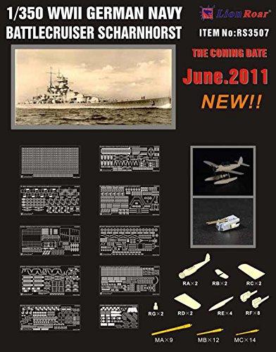 Shanghai lion roar 1 / 350 parts German Navy for Scharnhorst D company RS3507