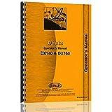New Deutz (Allis) DX140 Operator Manual