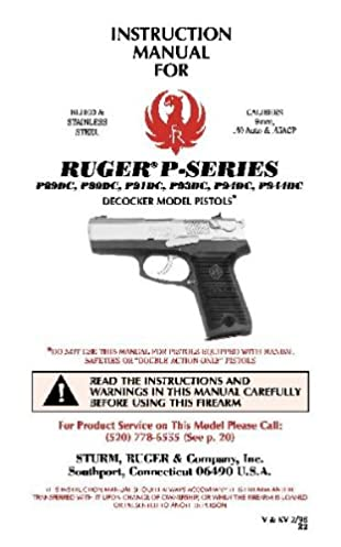 instruction manual for ruger p series p89 p90 p94 p944 manual rh amazon com ruger p94 owners manual ruger p94 owners manual