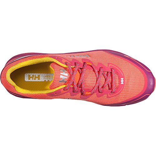 Helly Hansen W Pathflyer Ht, Zapatillas de Running para Mujer Rosa (Magenta / Neon Coral / Re)