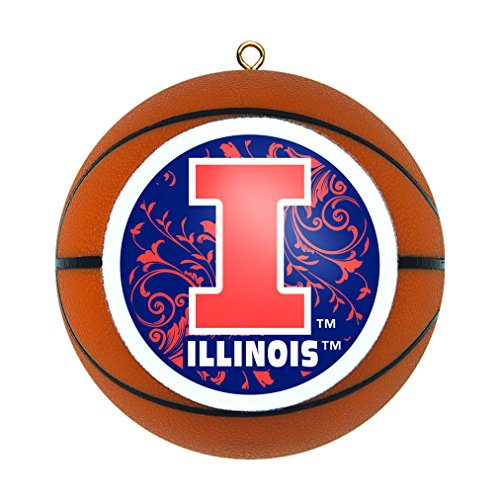 NCAA Illinois Fighting Illini Replica Basketball ()