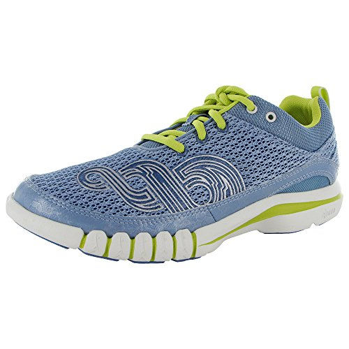 Ahnu Womens Yoga Flex Cross Trainer Sneaker Shoes, Polar Sky, US 6.5