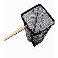 Supa Wooden Handle Pond Net (10x8 - 28 Handle) (Black)