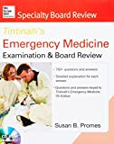 img - for McGraw-Hill Specialty Board Review Tintinalli's Emergency Medicine Examination and Board Review 7th edition by Susan B Promes (2013-03-01) book / textbook / text book