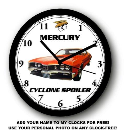 Cyclone Spoiler (1970 MERCURY CYCLONE SPOILER WALL CLOCK-Free USA Ship-Choose 1 of)