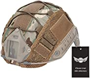 AegisTac Helmet Cover Fast Helmet with PJ Type Tactical Cover for Men & W