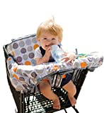Lumiere Baby Shopping Cart Cover for Baby - Universal Fit,