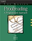 img - for The Basics: Proofreading: A Programmed Approach (Basics of Proofreading) book / textbook / text book