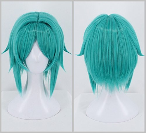 Ani·Lnc Wig Land Of The Lustrous Phosphophyllite Costume Womens Anime Cosplay Wig (Costumes Land)