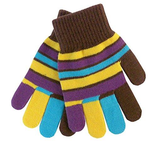 Ergora Kinder Fingerhandschuhe Magic Glove Zauberhandschuhe Unisex 6 Farben Handschuhe One Size 5 bis 10/11 Jahre