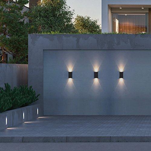 Projecteurs Muraux Led Impermeable A L Eau En Plein Air Applique