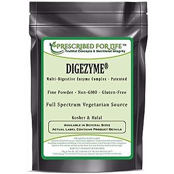 Amazon Com Digestive Enzyme Complex Powder Full