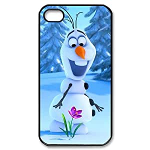 High Quality -ChenDong PHONE CASE- For Iphone 4 4S case cover -Frozen Forever,Snow Queen and Olaf-UNIQUE-DESIGH 19