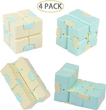 Amazon.com: Hartop - Juego de 4 cubos de juguete para el ...