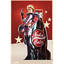 Fallout 4- Nuka Cola Pin Up Poster 24 x 36in by Posterstoponline