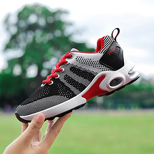 5 Flyknit Town US5 66 8 Comfortable Women's Cushion Running Shoes No Air 5 Lightweight Black Sneakers AFx8q75w5