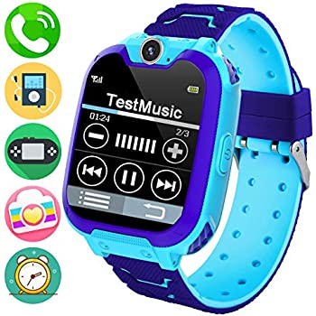 Amazon.com: Reloj inteligente para niños con GPS, IP67 ...