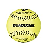 DeMarini 12'' NSA Slowpitch Leather Softball .52/275, Pack of 12