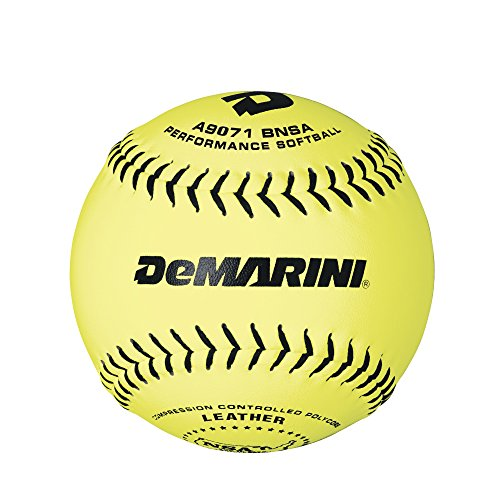 DeMarini 12'' NSA Slowpitch Leather Softball .52/275, Pack of 12 by DeMarini