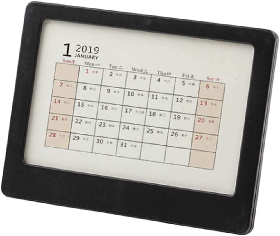 2018 Calendario de escritorio/Calendario del profesor/Plan de la mesa de negocios, A3: Amazon.es: Oficina y papelería
