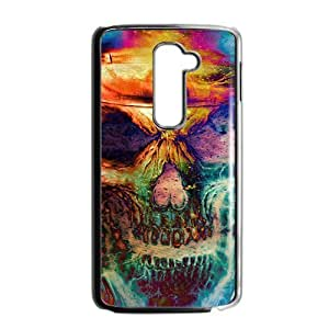 Colorful unique skull Phone Case for LG G2