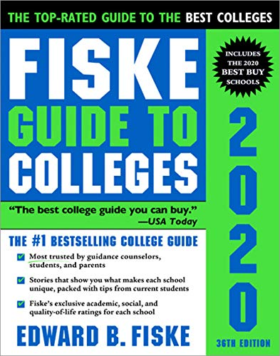 Top 10 college guide fiske for 2020