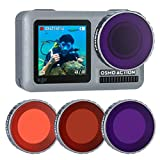 ULANZI OA-9 3 Packs Lens Diving Filter Kit for DJI Osmo Action Driving, Enhances Colors for Underwater Video and Photography Reviews