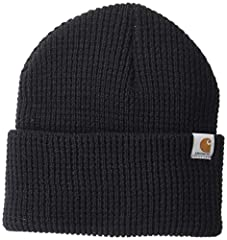 Men's waffle-knit hat for the coldest days of the year. Built with a cozy 3M Thinsulate lining, your head will feel like it's sitting next to the fireplace.