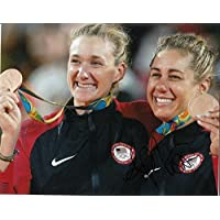 APRIL ROSS signed (BEACH VOLLEYBALL) 8X10 photo AVP OLYMPICS USA (PROOF) W/COA 1 - Autographed Olympic Photos