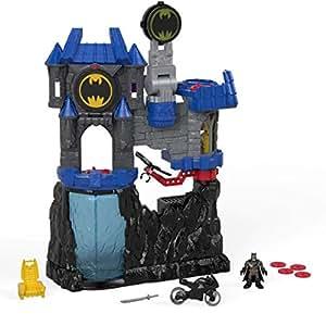 Imaginext Batcaverna Wayne Mattel Preto