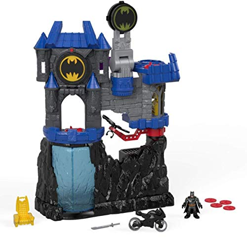Fisher-Price Imaginext DC Super Friends, Wayne Manor Batcave (Best Batman Toy For 3 Year Old)