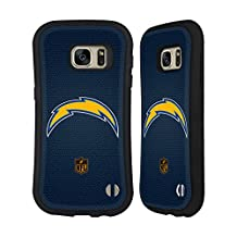Official NFL Football Los Angeles Chargers Logo Hybrid Case for Samsung Galaxy S7