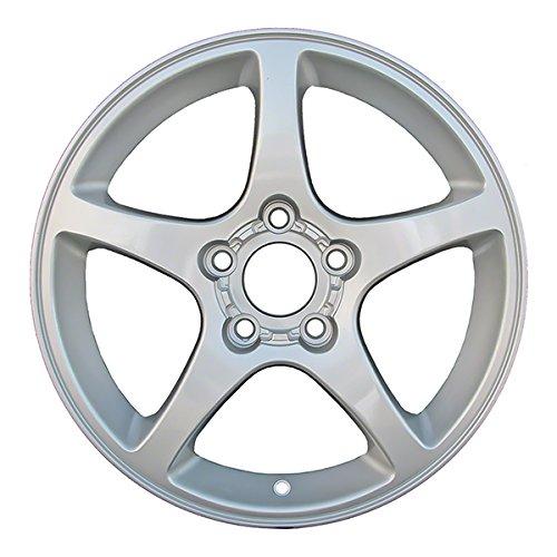 17' Chrome Corvette - 17'' Aftermarket Chrome Refurbished OEM Wheels for 00-04 CHEVROLET CORVETTE
