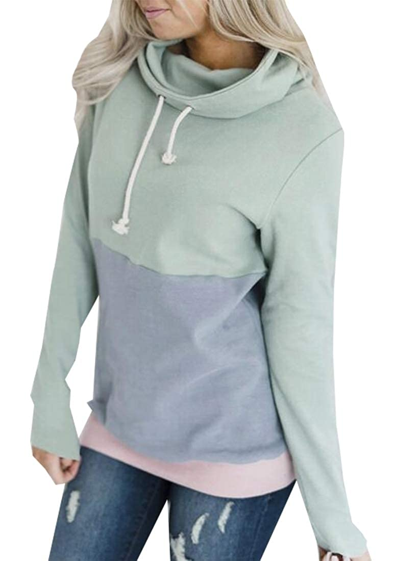 Amazon.com: Moda Mujer Sudadera 1/4 Zip Fleece Pullover Stand Collar de Sherpa sudadera pila tops: Clothing