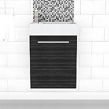 Cutler Kitchen & Bath 18'' Space Saver Vanity (Euro Grey)