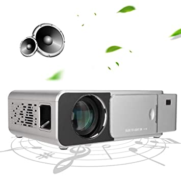 T6 Mini Proyector, 3500 Lúmenes Multimedia Vídeo Proyector ...