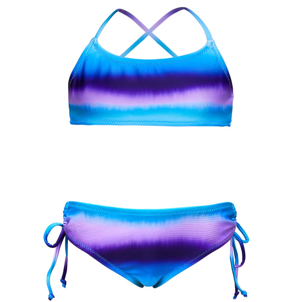 Girls Swimwear Swimsuit Bikini set Swimming Costume Bathing suit Age 4-14 years
